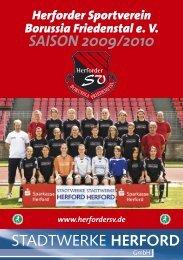 Vereinsheft 2009 - Herforder SV Borussia Friedenstal