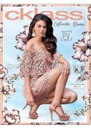 #619 Catálogo Cklass Coleccion Dama Primavera Verano 2018