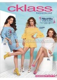 #620 Catálogo Cklass Fashionline Primavera Verano 2018