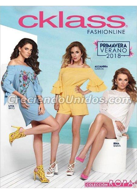620 Catálogo Cklass Fashionline Primavera Verano 2018