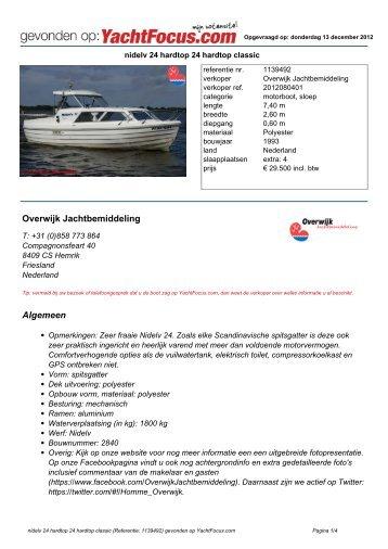 afdrukken met alle foto's - Yachtfocus
