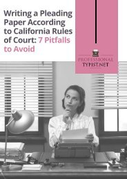 California Rules of Court Pleading Format
