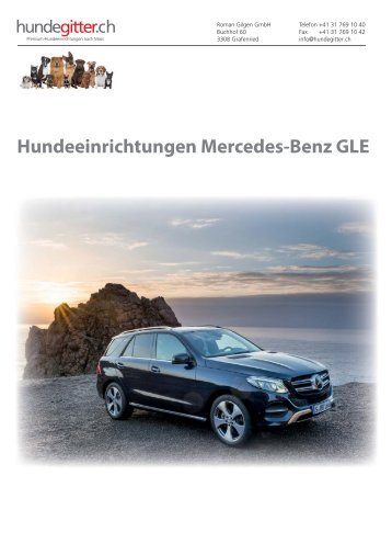 Mercedes_GLE_Hundeeinrichtungen