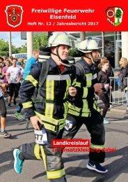 Freiwillige Feuerwehr Elsenfeld Jahresbericht 2017