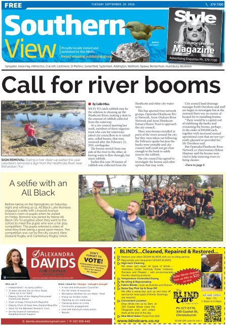 Southern View: September 20, 2016