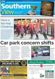Southern View: December 20, 2016