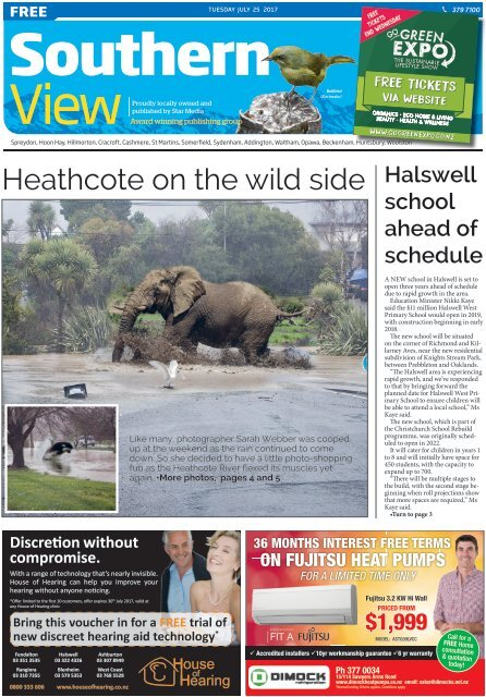 Southern View: July 25, 2017