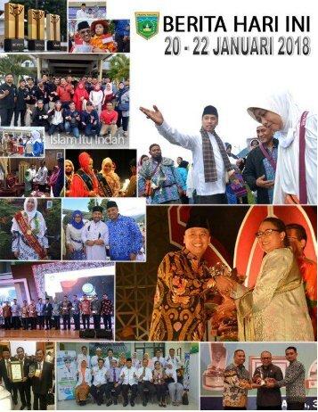 e-Kliping 20 - 22 Januari 2018