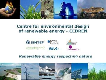 CEDREN - Energi Norge