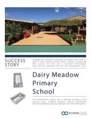 Success Story Brochure - Dairy Meadow Primary