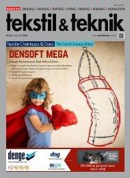 Tekstil Teknik Dergisi Ocak 2018 Sayısı