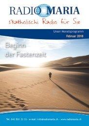 Radio Maria Schweiz - Februar 2018