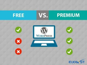 Differences between free and paid WordPress Hosting
