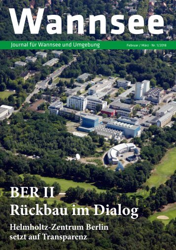 Wannsee Journal Nr. 1/2018