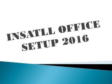 Office.com/setup | Office Setup 2016