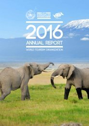 Annual Report 2017 UNWTO