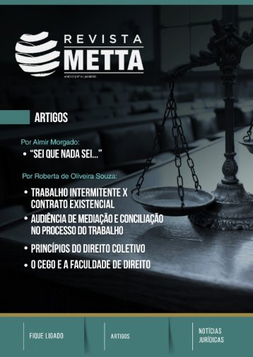 Revista METTA 6ª Edição