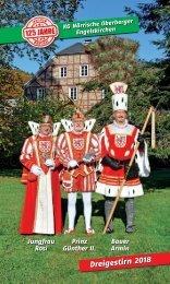 Prinzenheft 2004 zum 111 jährigen Jubiläum