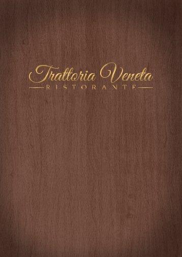 Speisekarte Trattoria Veneta Ristorante | Pizzeria