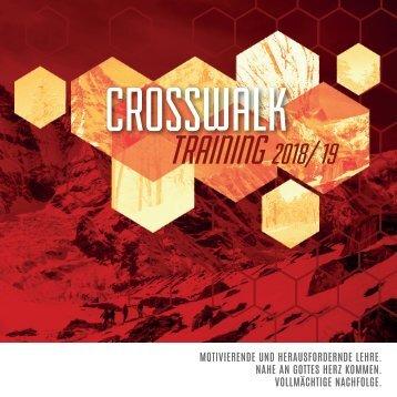 CrossWalk-Training Flyer 2018-19
