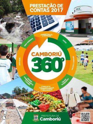 Prefeitura de Camboriú - Prestação de Contas 2017