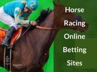 Horse Racing Online Betting sites