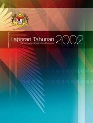 LAPORAN TAHUNAN KEMENTERIAN KESIHATAN MALAYSIA 2002