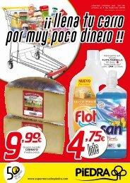 Supermercados PIEDRA ofertas válidas del 22 de enero al 3 de febrero 2018