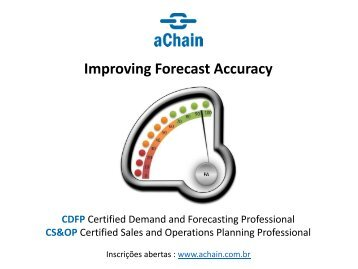 Improving Forecast Accuracy!