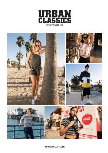 UrbanClassics Katalog-2018 Spring/Summer