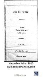Book 49 Hasan bin Sabah 1910