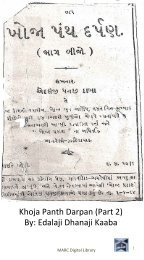Book 5 Khoja Panth Darpan Part2
