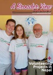 Volunteer Nepal - Volunteer Abroad - Abroaderview.org