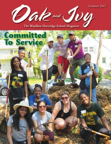 Oak and Ivy, The Wardlaw+Hartridge School Magazine Summer 2017