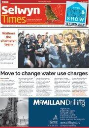 Selwyn Times: June 14, 2016