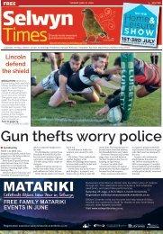 Selwyn Times: June 21, 2016