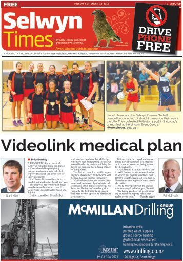 Selwyn Times: September 13, 2016