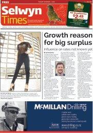 Selwyn Times: November 01, 2016