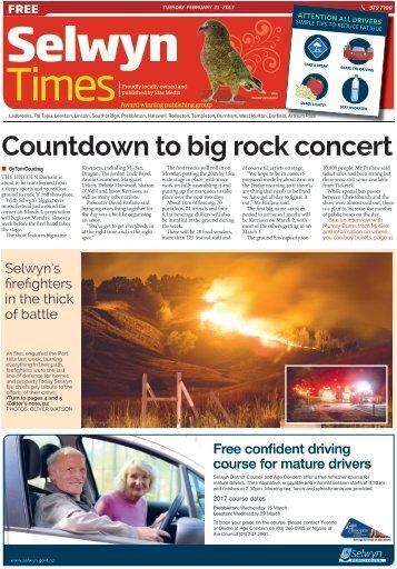Selwyn Times: February 21, 2017