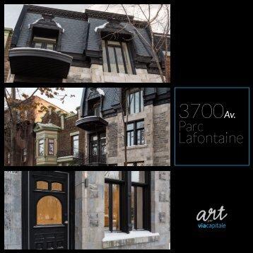 3700 avenue Parc Lafontaine