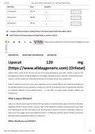 Buy Lipocut 120mg _ AllDayGeneric - Page 3