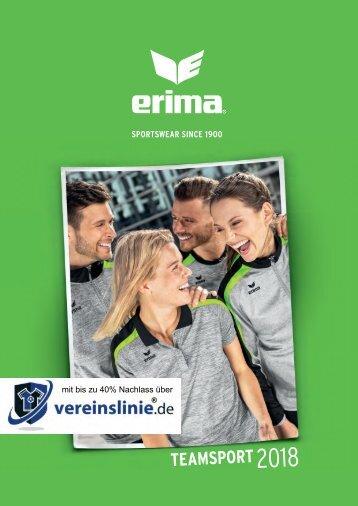 Erima Teamsport-Katalog 2018