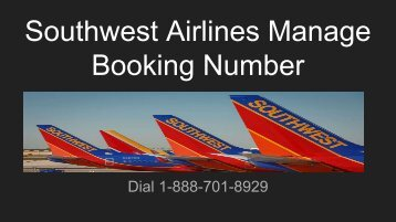 Southwest Airlines Booking Phone Number