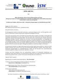 einladung - BUND Sachsen-Anhalt