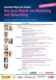 Die neue Macht von Marketing und Networking - Textination