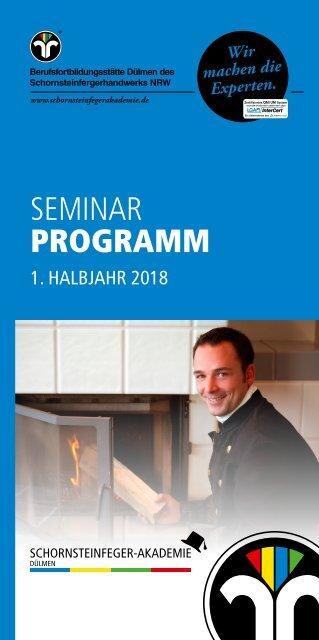 Schornsteinfeger-Akademie Seminarprogramm 18-1