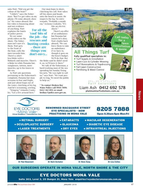 Pittwater Life January 2018 Issue