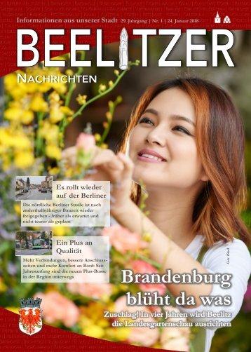 Beelitzer Nachrichten - Januar 2018
