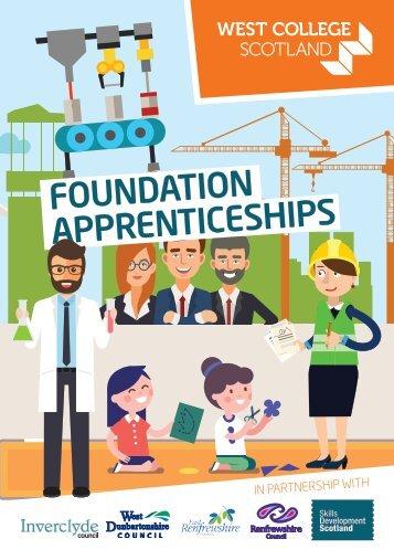 West College Scotland Foundation Apprenticeships 2018