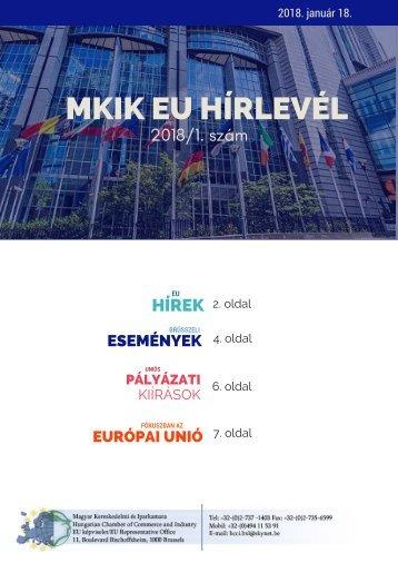 MKIK EU Hirlevel uj kulalak